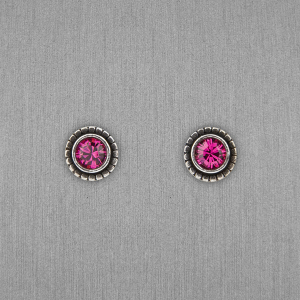 Patricia Locke Jewelry: Indie Earrings in Fuchsia