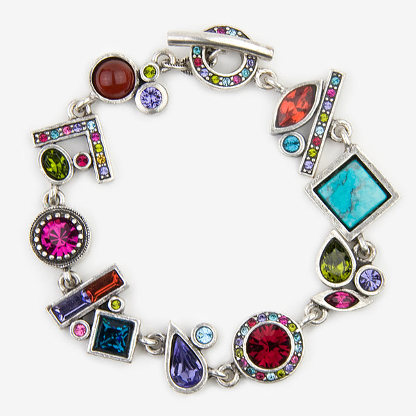 Patricia Locke Jewelry: Harmonic Series Bracelet in Fling