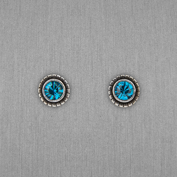 Patricia Locke Jewelry: Indie Earrings in Indicolite
