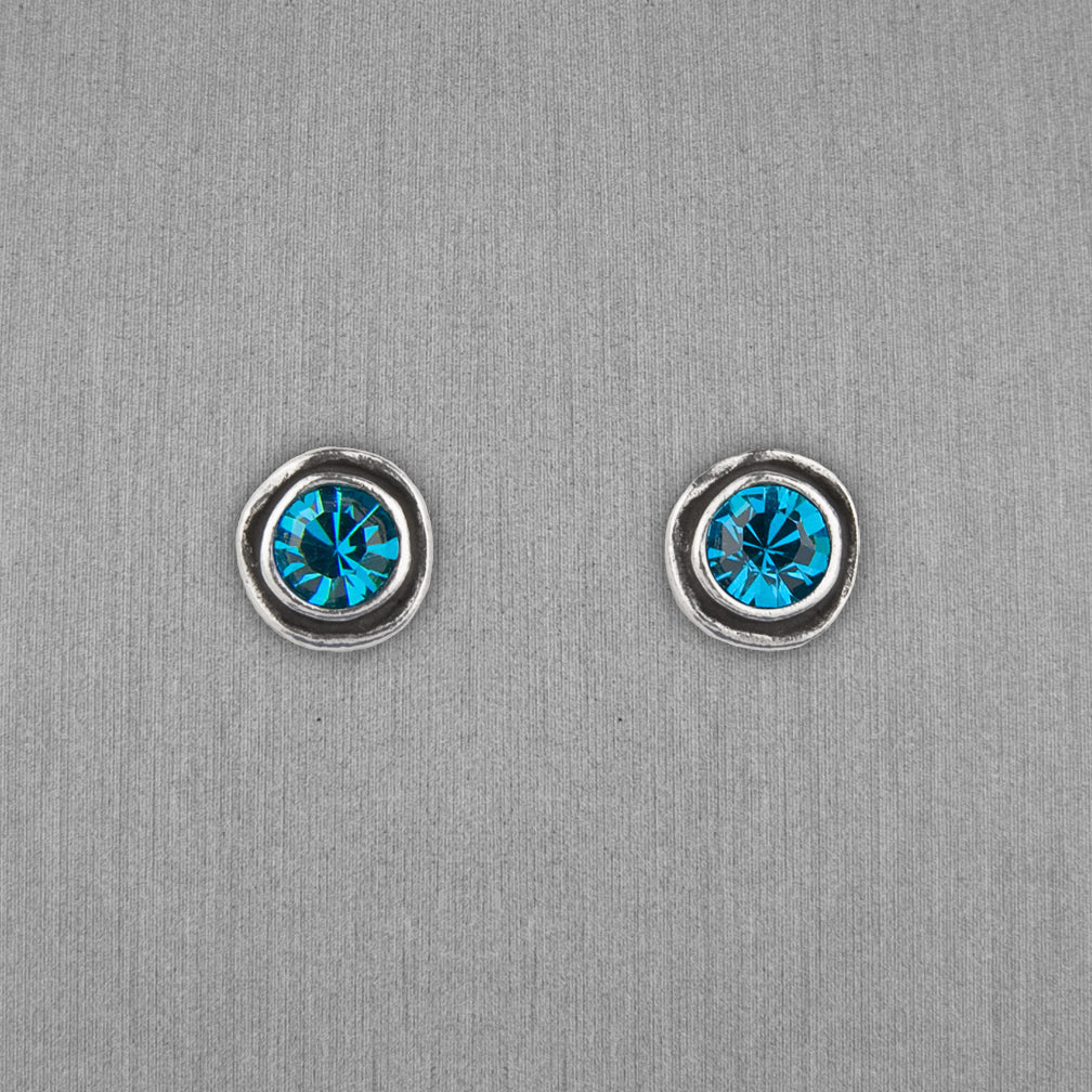 Patricia Locke Jewelry: On The Dot Earrings in Indicolite