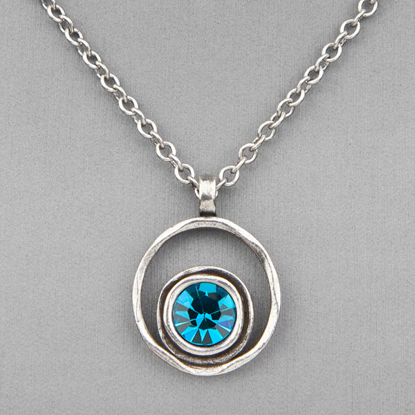 Patricia Locke Jewelry: Serenity Necklace in Indicolite