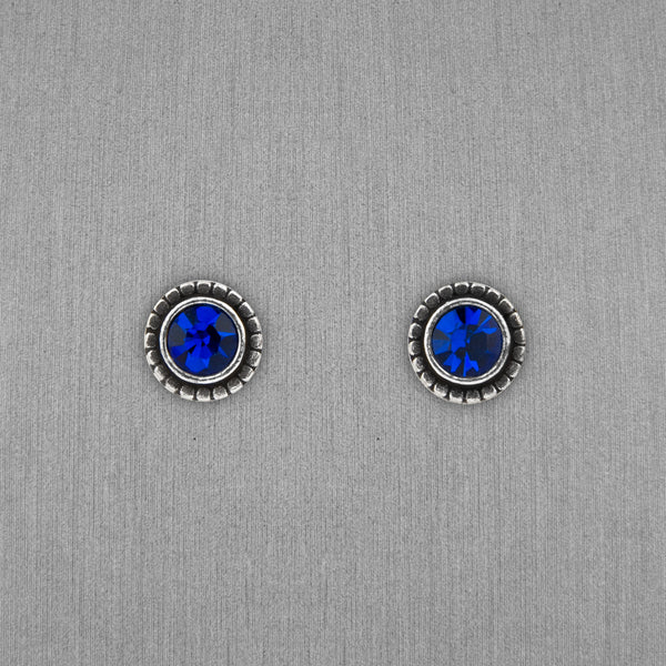 Patricia Locke Jewelry: Indie Earrings in Capri Blue