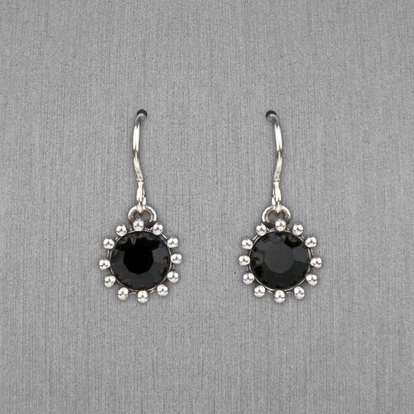 Patricia Locke Jewelry: Cupcake Earrings in Jet