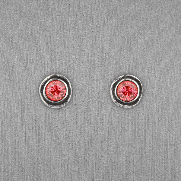 Patricia Locke Jewelry: On The Dot Earrings in Padparadscha