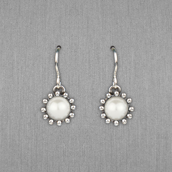Patricia Locke Jewelry: Cupcake Earrings in Pearl