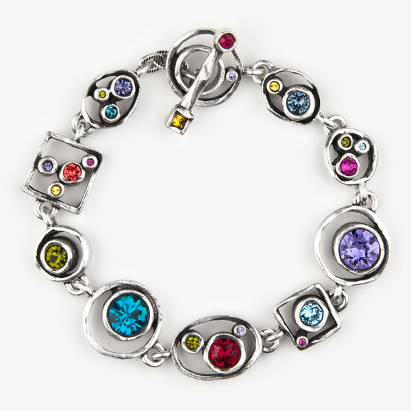 Patricia Locke Jewelry: Penny Arcade Bracelet in Celebration