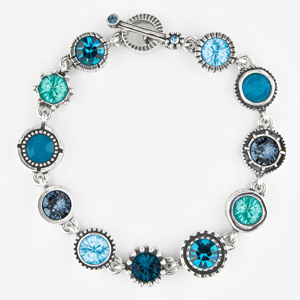 Patricia Locke Jewelry: Round Two Bracelet in Bermuda