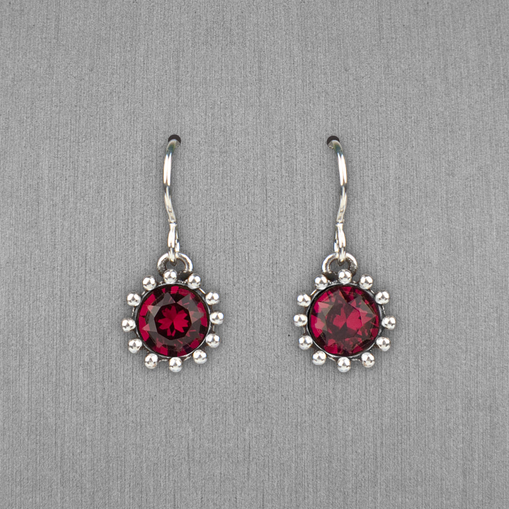 Patricia Locke Jewelry: Cupcake Earrings in Ruby