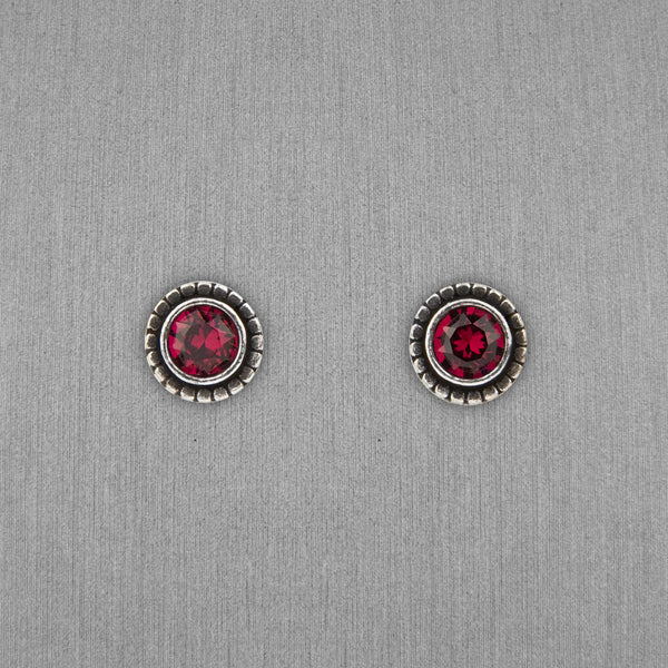 Patricia Locke Jewelry: Indie Earrings in Ruby