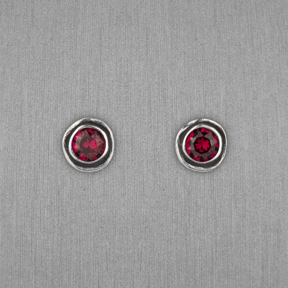 Patricia Locke Jewelry: On The Dot Earrings in Ruby