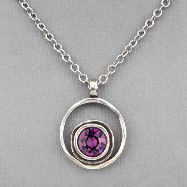 Patricia Locke Jewelry: Serenity Necklace in Amethyst