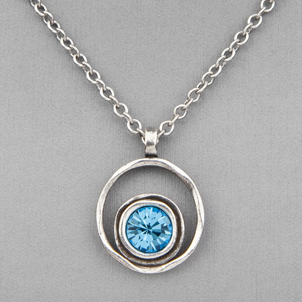 Patricia Locke Jewelry: Serenity Necklace in Aquamarine