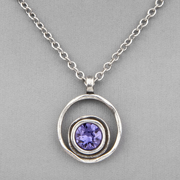 Patricia Locke Jewelry: Serenity Necklace in Tanzanite