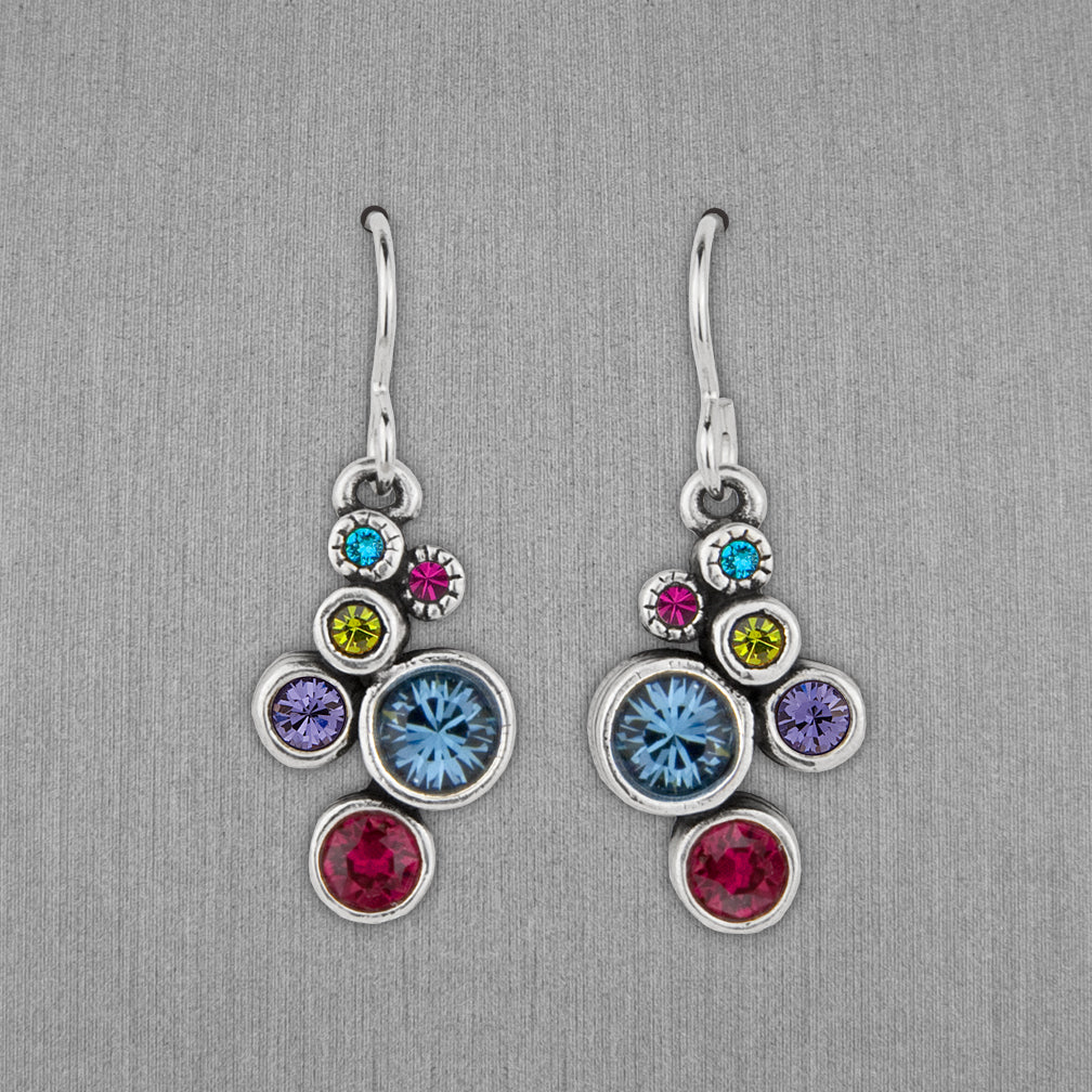 Patricia Locke Jewelry: Splash Earrings in Celebration