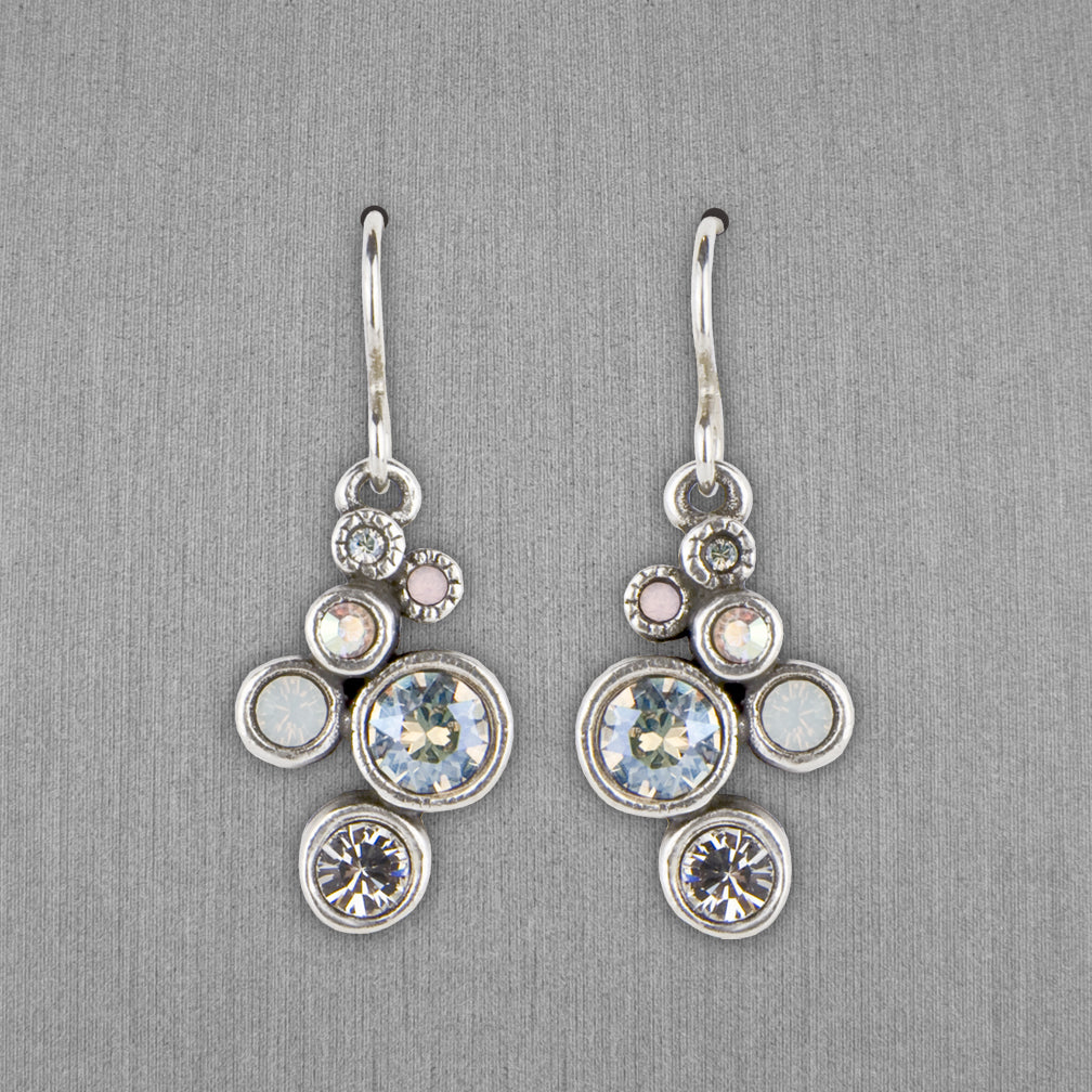Patricia Locke Jewelry: Splash Earrings in Sugar