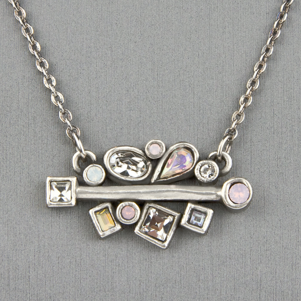 Patricia Locke Jewelry: Winter Garden Necklace in Sugar