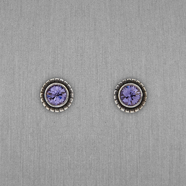 Patricia Locke Jewelry: Indie Earrings in Tanzanite
