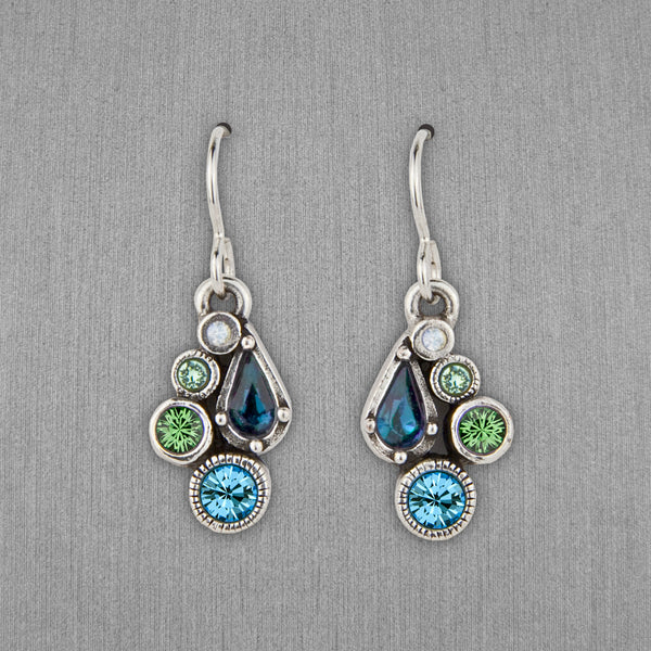 Patricia Locke Jewelry: Bitty Earrings in Zephyr