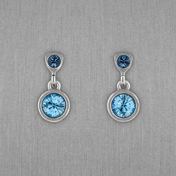 Patricia Locke Jewelry: Bouton Earrings in Zephyr
