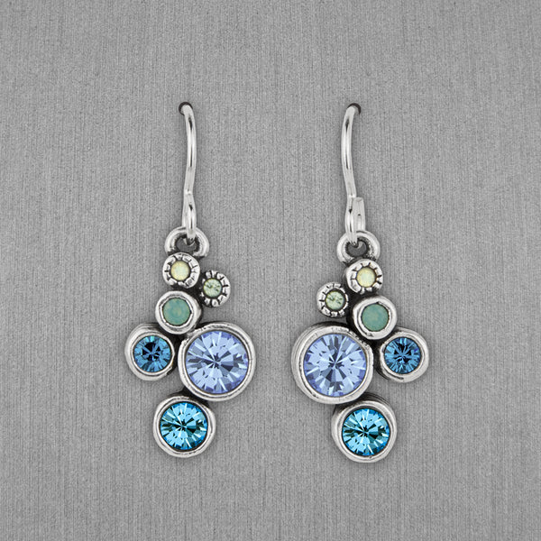 Patricia Locke Jewelry: Splash Earrings in Zephyr
