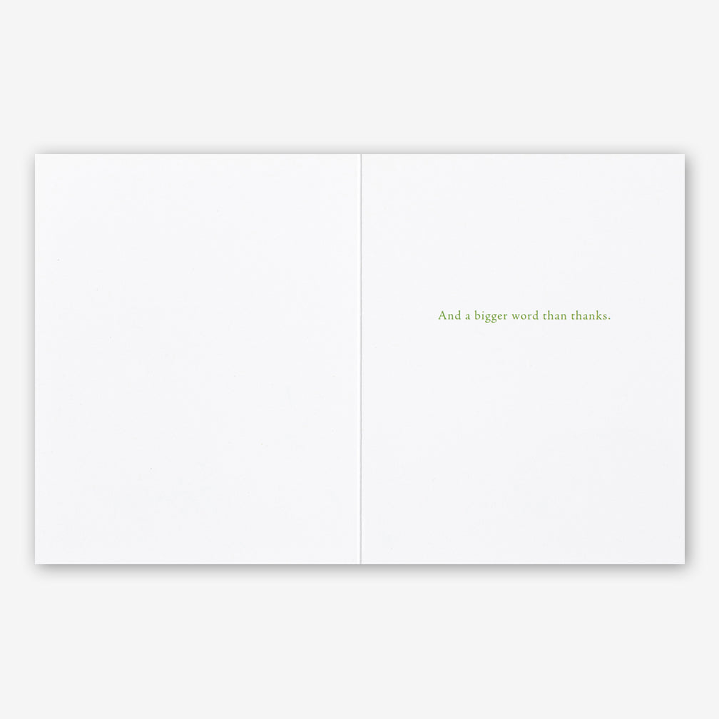 "Positively Green Cards: ""…I want a brighter word than bright…"" —John Keats"