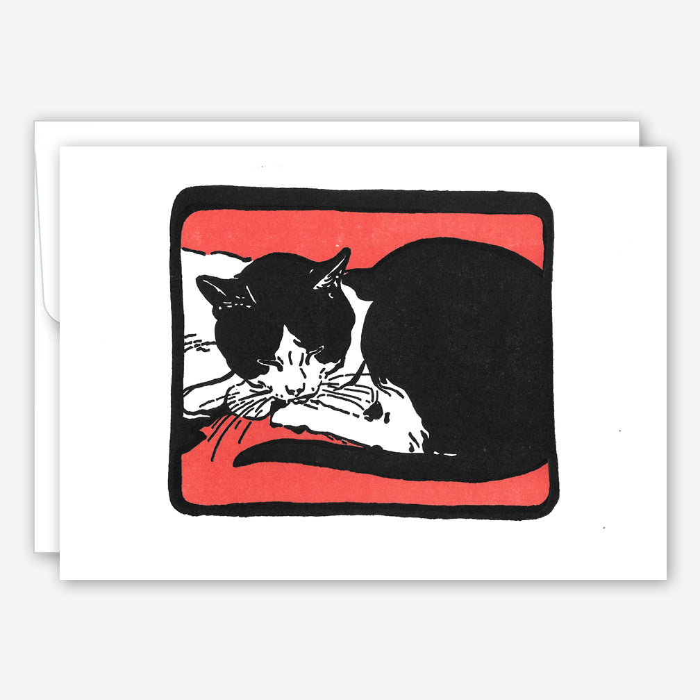 Saturn Press Everyday Card: Cat Snooze