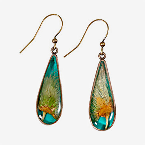 Shari Dixon: Earrings: Apache Plume Teardrop Earring