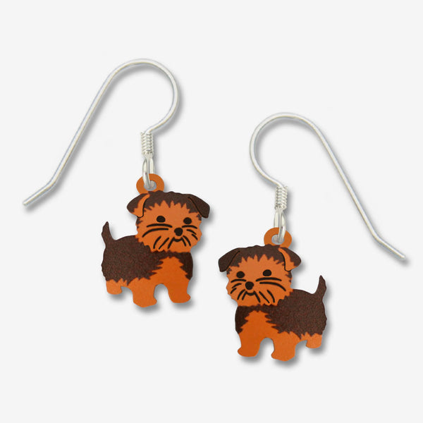 Sienna Sky Earrings: Yorkshire Terrier