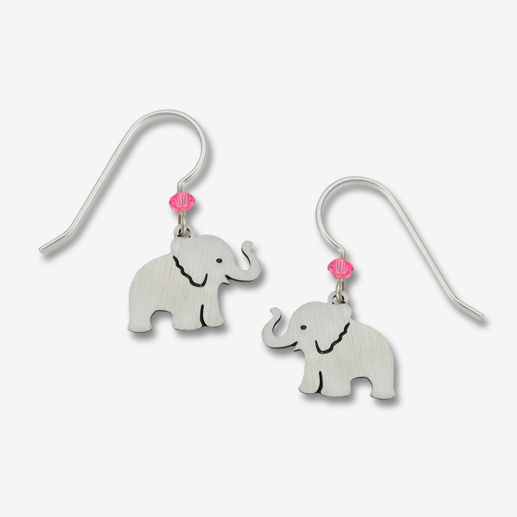 Sienna Sky Earrings: Elephant
