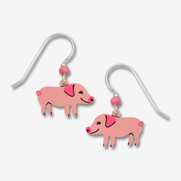Sienna Sky Earrings: Piggie