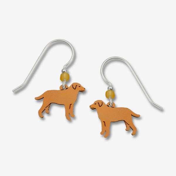 Sienna Sky Earrings: Yellow Lab