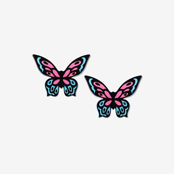 Sienna Sky Post Earrings: Fantasy Butterfly