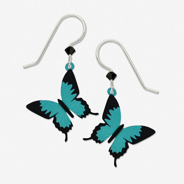 Sienna Sky Earrings: Ulysses Butterfly