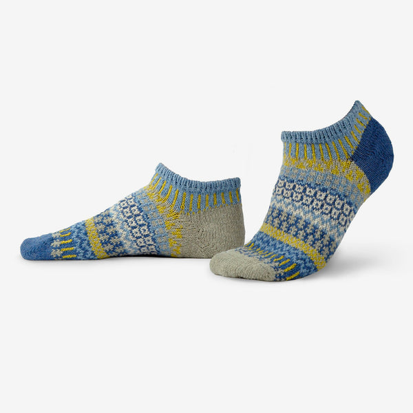 Solmate Socks: Adult Ankle Socks: Chicory