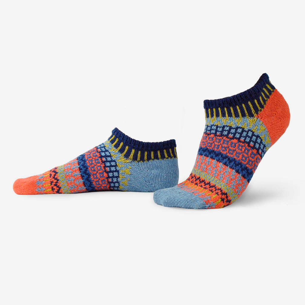 Solmate Socks: Adult Ankle Socks: Masala