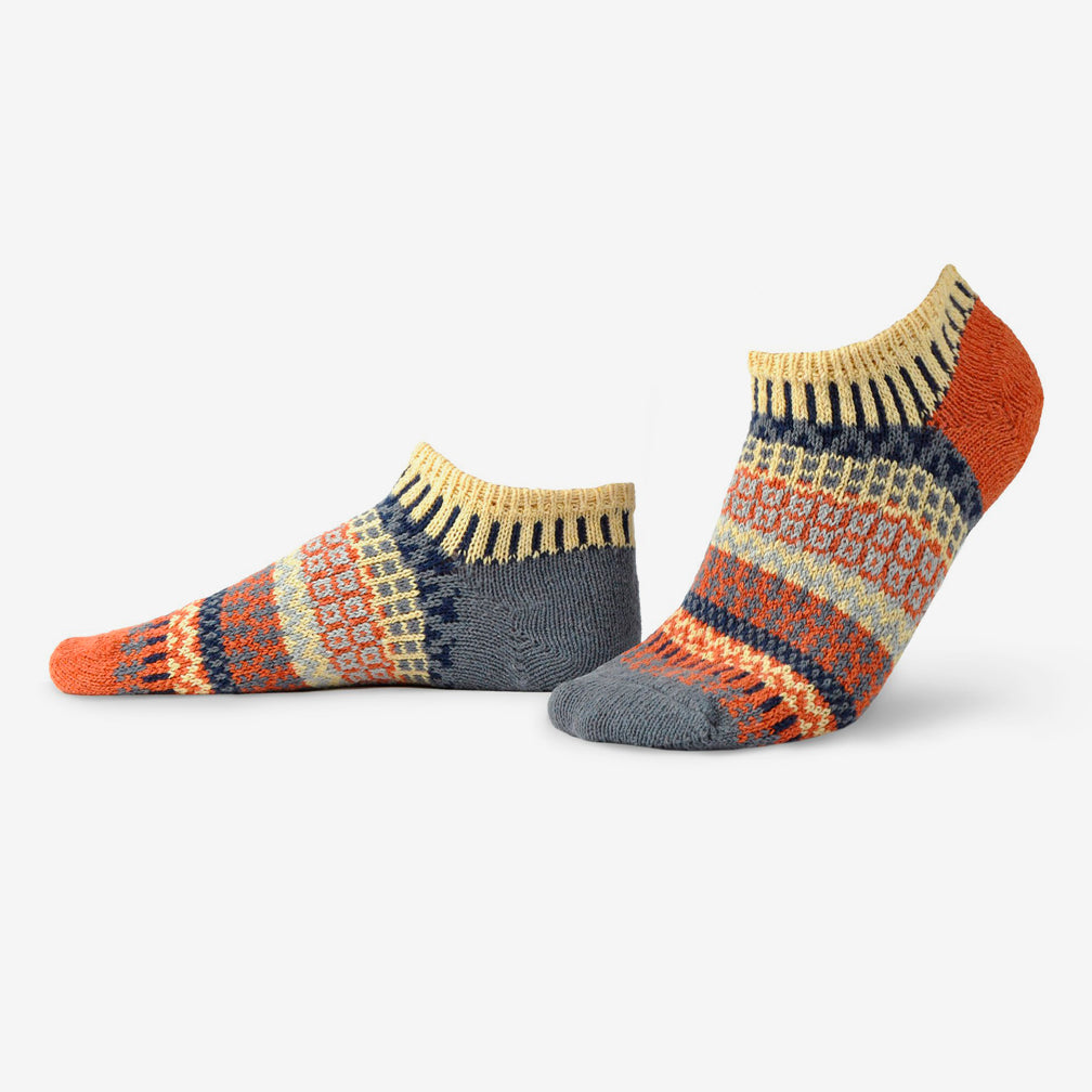 Solmate Socks: Adult Ankle Socks: Nutmeg