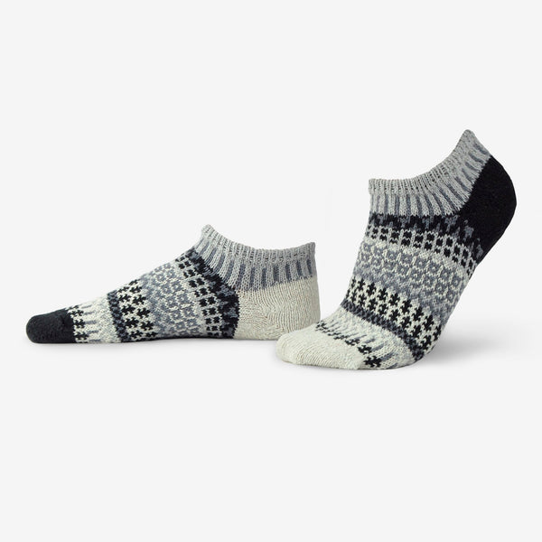 Solmate Socks: Adult Ankle Socks: Pepper