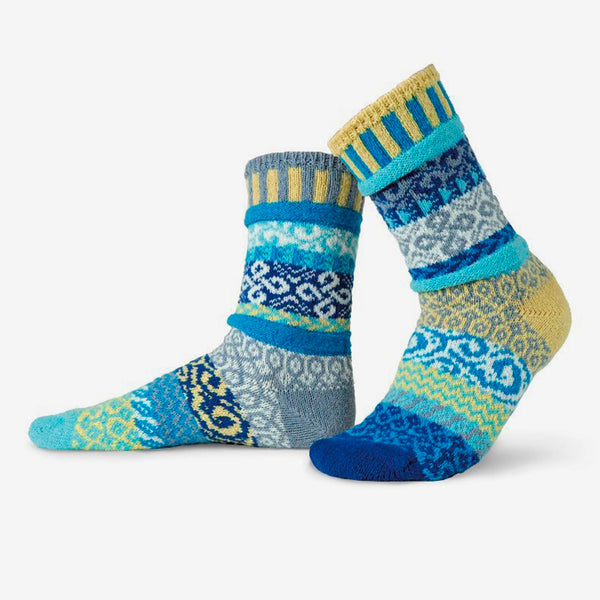 Solmate Socks: Adult Crew Socks: Air