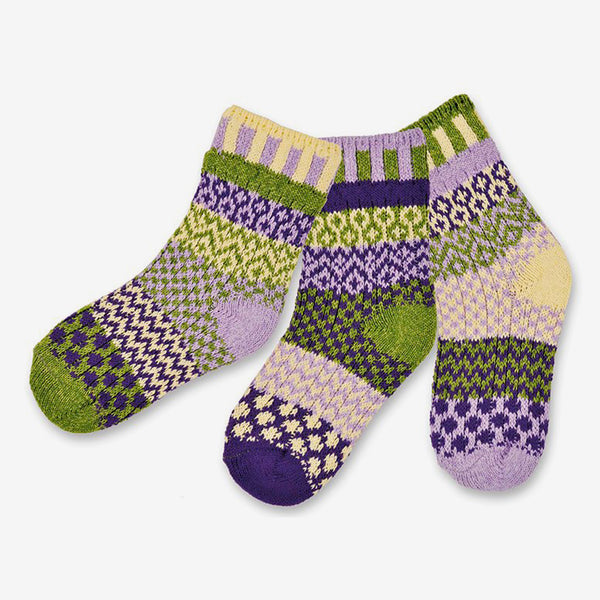 Solmate Socks: Kids Socks: Caterpillar