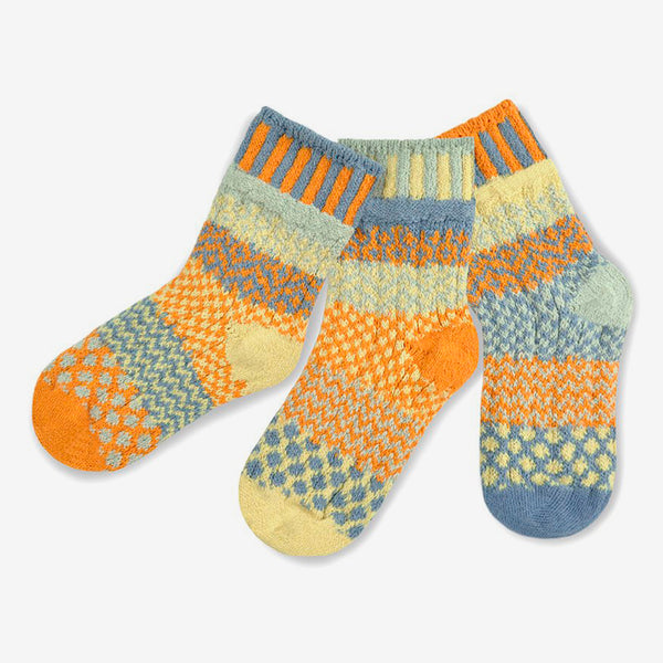 Solmate Socks: Kids Socks: Puddle Duck