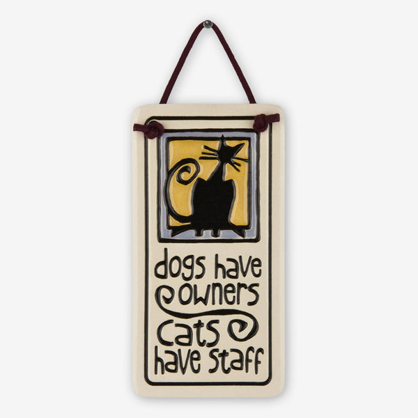 Spooner Creek: Mini Charmer Tiles: Cats Have Staff