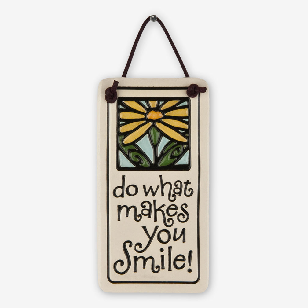 Spooner Creek: Mini Charmer Tiles: Do What Makes You Smile