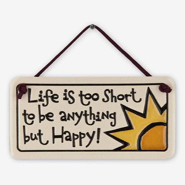 Spooner Creek: Mini Charmer Tiles: Life is Too Short