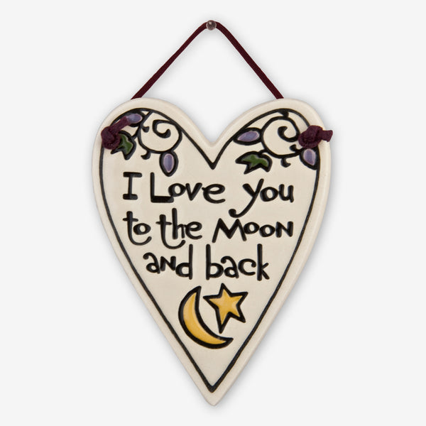 Spooner Creek: Mini Charmer Tiles: Love You to the Moon
