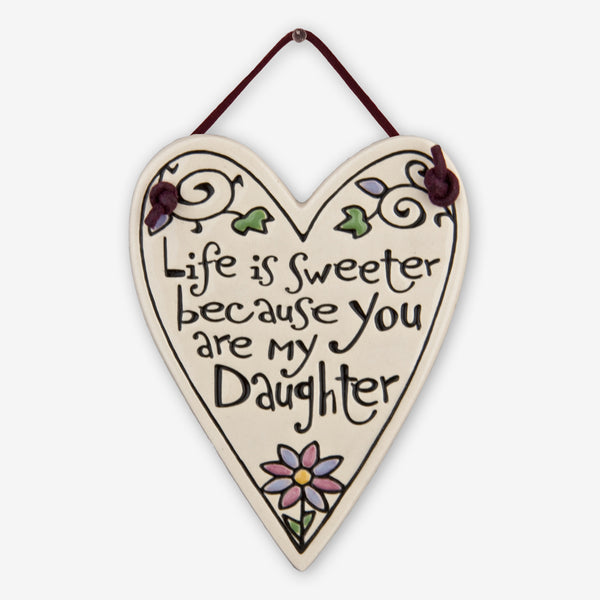 Spooner Creek: Mini Charmer Tiles: You Are My Daughter