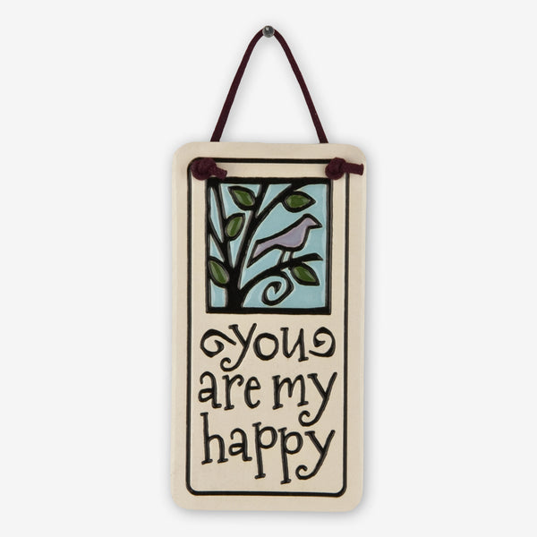 Spooner Creek: Mini Charmer Tiles: You Are My Happy