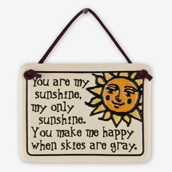 Spooner Creek: Mini Charmer Tiles: You Are My Sunshine