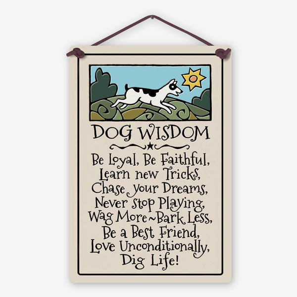 Spooner Creek: Large Rectangle: Dog Wisdom