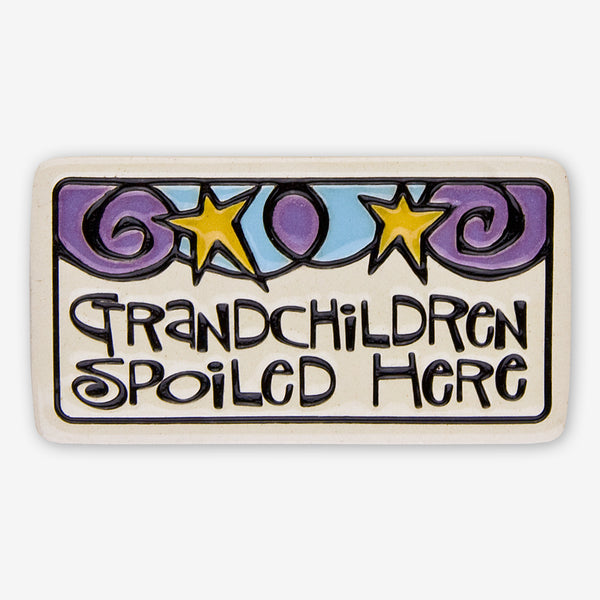 Spooner Creek: Magnet Tiles: Grandchildren Spoiled Here