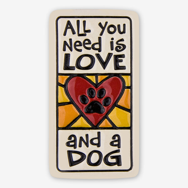 Spooner Creek: Magnet Tiles: Love And a Dog